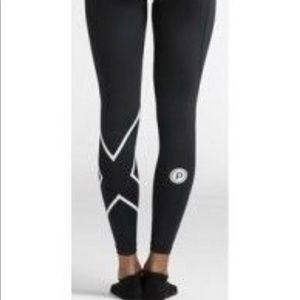2XU Pure Barre compression tights